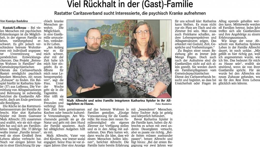 BT 23.06.2016 Viel Rückhalt in der (Gast)-Familie