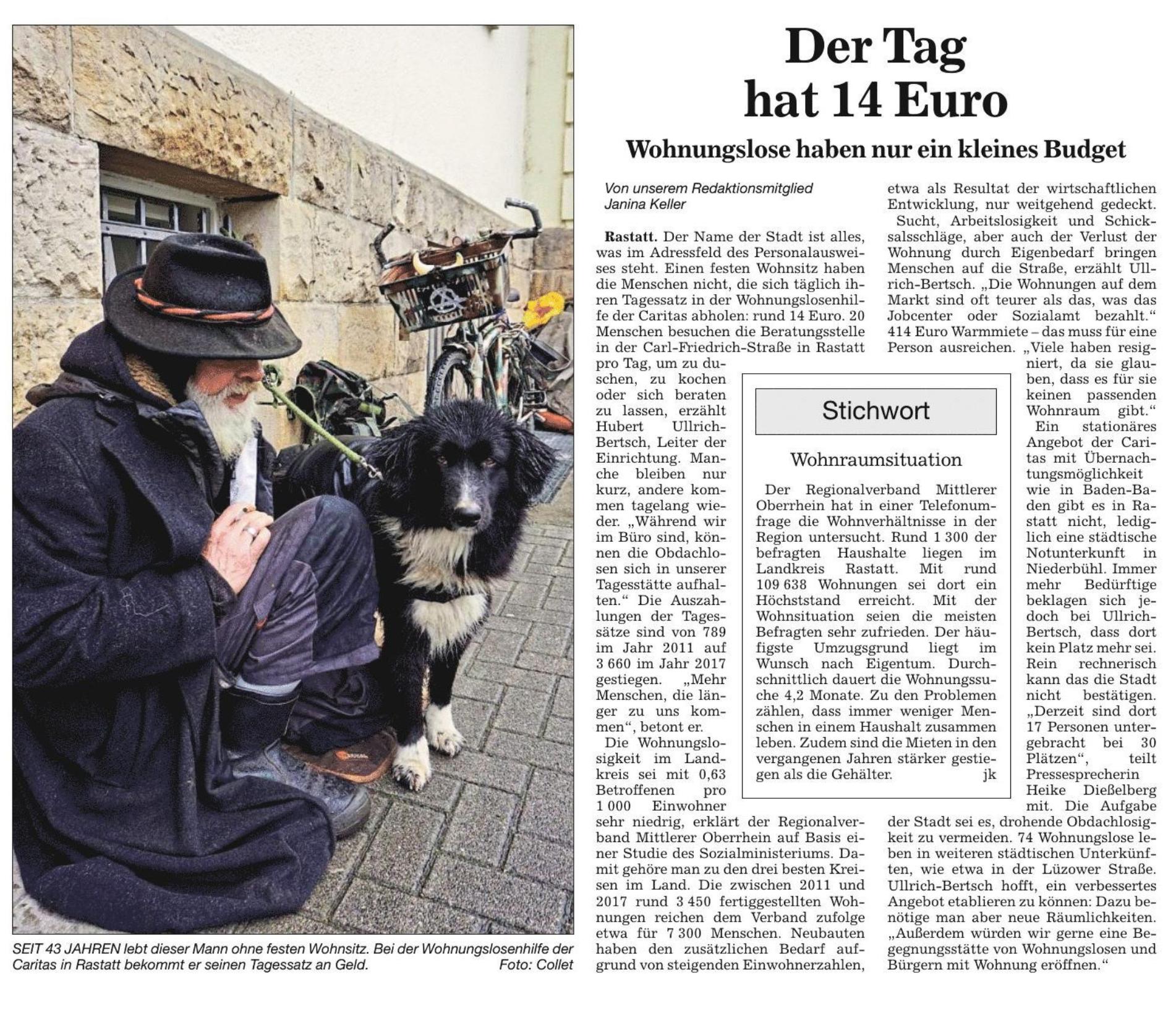 Badische Neueste Nachrichten | Rastatt/Gaggenau | RASTATT | 08.02.2019